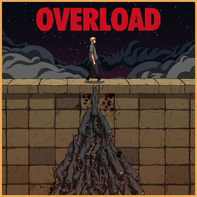 Album cover for OVERLOAD by Kayzo