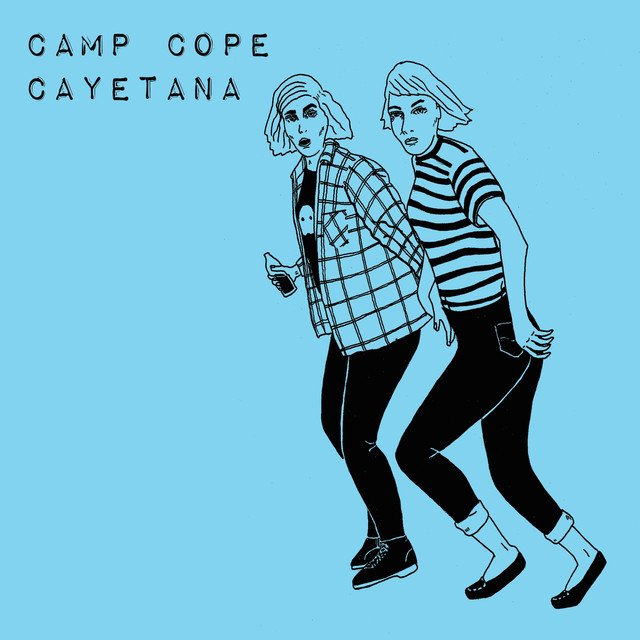 Album cover for Split by Camp Cope, Cayetana