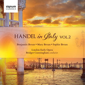 Handel in Italy, Vol. 2 Albümü