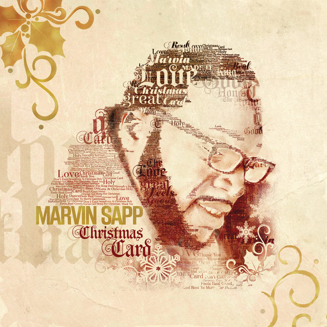 Marvin Sapp - Christmas Card cover