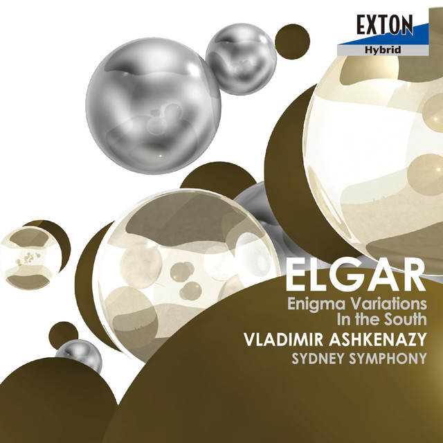 Elgar: Enigma Variations, In The South Albumcover