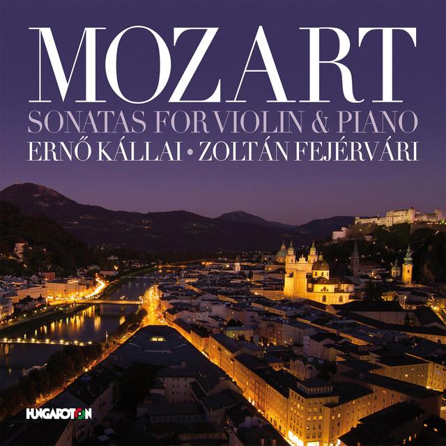 Mozart: Sonatas for Violin and Piano Albumcover