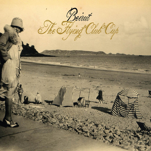 Album cover for The Flying Club Cup by Beirut