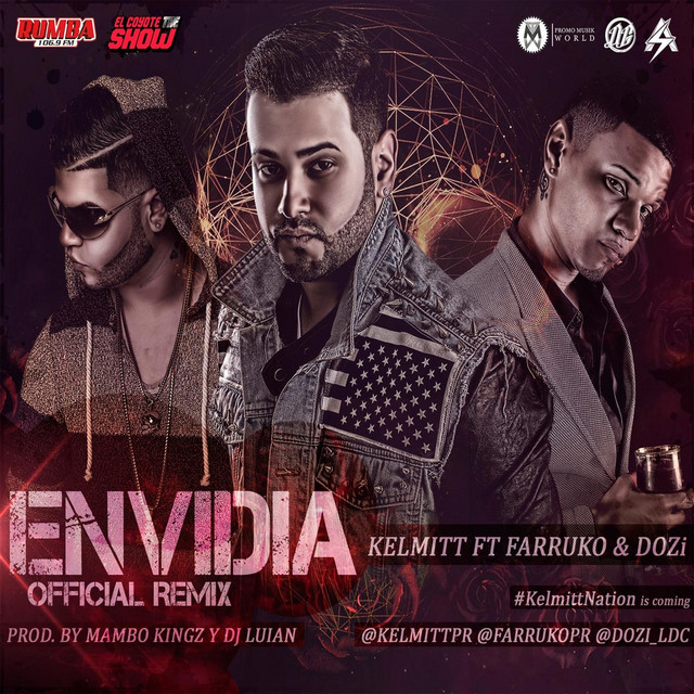 Envidia (Remix) [feat. D.Ozi & Farruko]