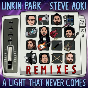 A LIGHT THAT NEVER COMES REMIX Albumcover