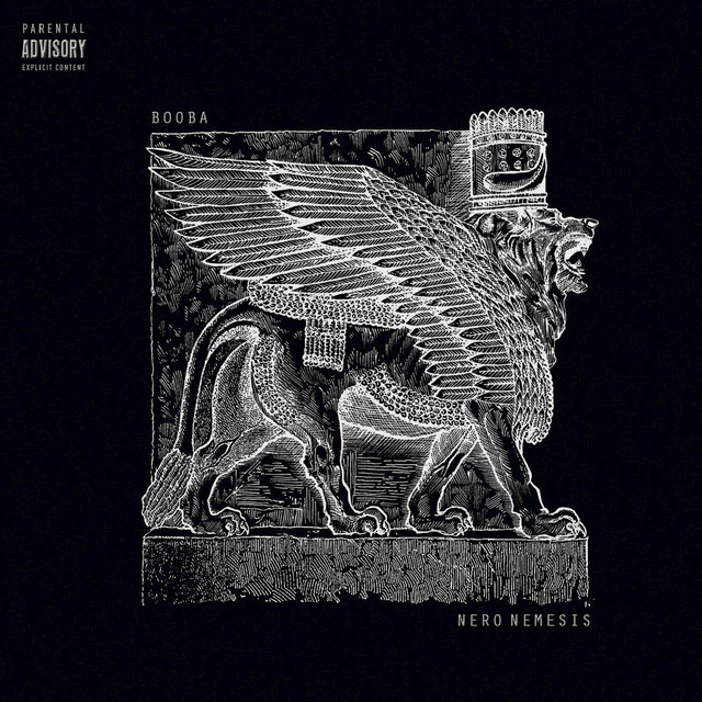 Album cover for Nero nemesis by Booba