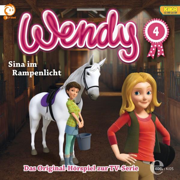 Folge 4: Erwischt!  -  Sina im Rampenlicht (Das Original-Hörspiel zur TV-Serie) Cover