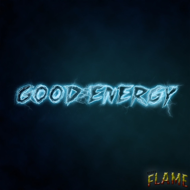 Album cover for Good Energy by Vicci Flame