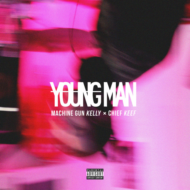 Machine Gun Kelly Young Man album cover