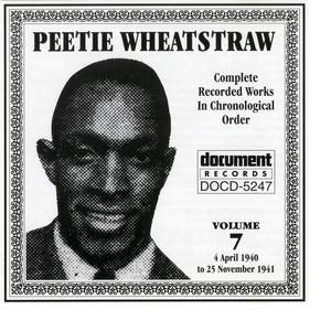 Peetie Wheatstraw Vol. 7 1940-1941 album