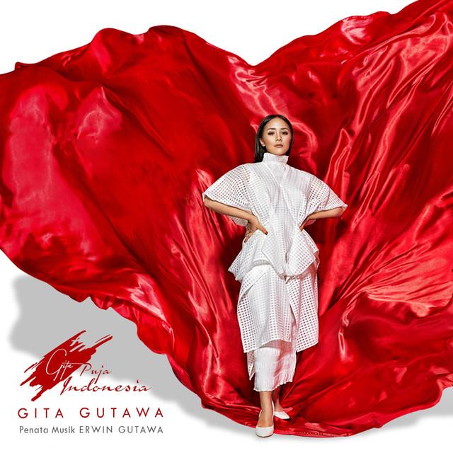 Album cover for Gita Puja Indonesia by Gita Gutawa