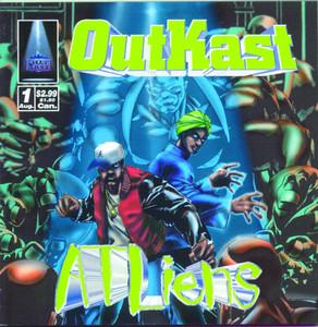 ATLiens Albumcover
