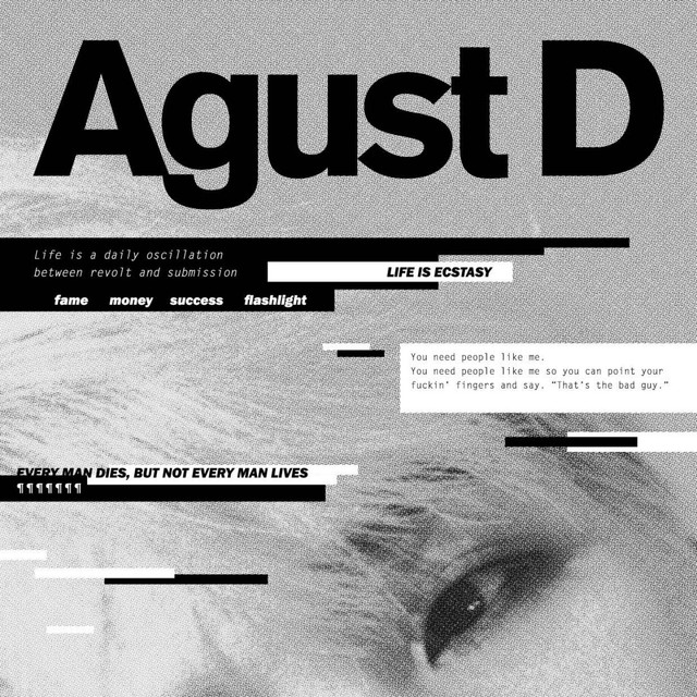 Album cover for Agust D by Agust D
