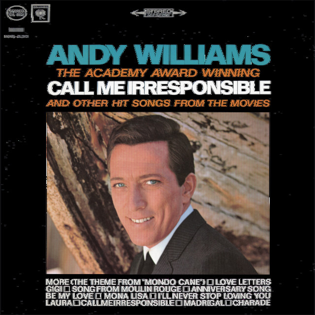 My Coloring Book Lyrics Andy Williams : Andy Williams Call Me Irresponsible Songtexte, Lyrics, ubersetzungen & Horproben