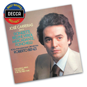 José Carreras Sings Donizetti, Bellini, Verdi, Mercadente, Ponchielli album