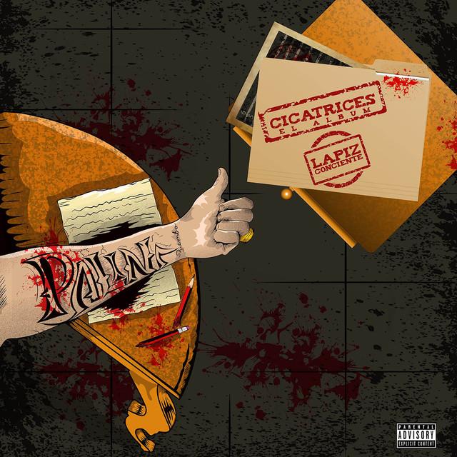 Album cover for Cicatrices by Lapiz Conciente