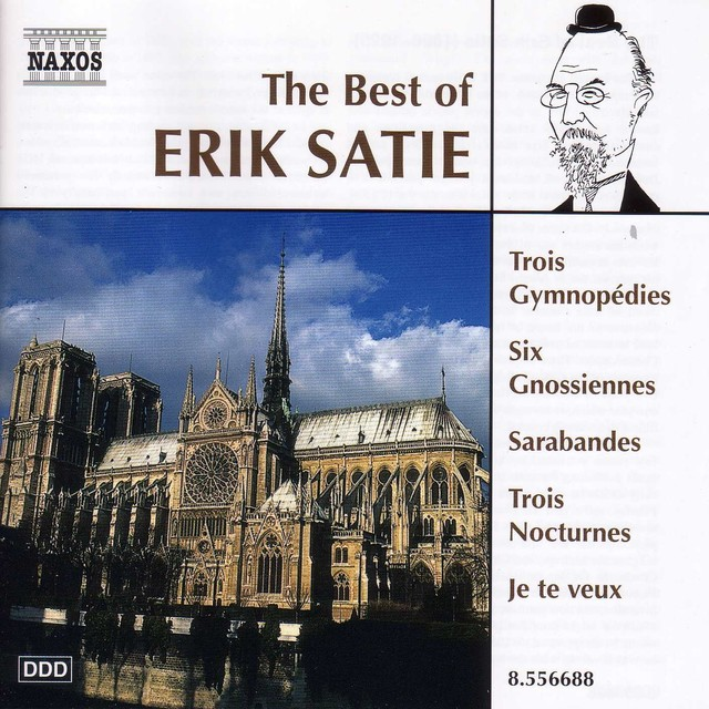 Satie (The Best Of) Albumcover