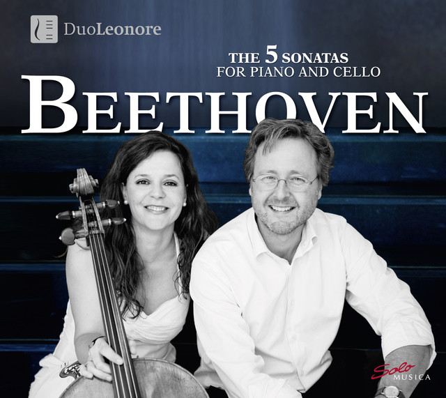 Beethoven: 5 Sonatas for Cello & Piano Albumcover