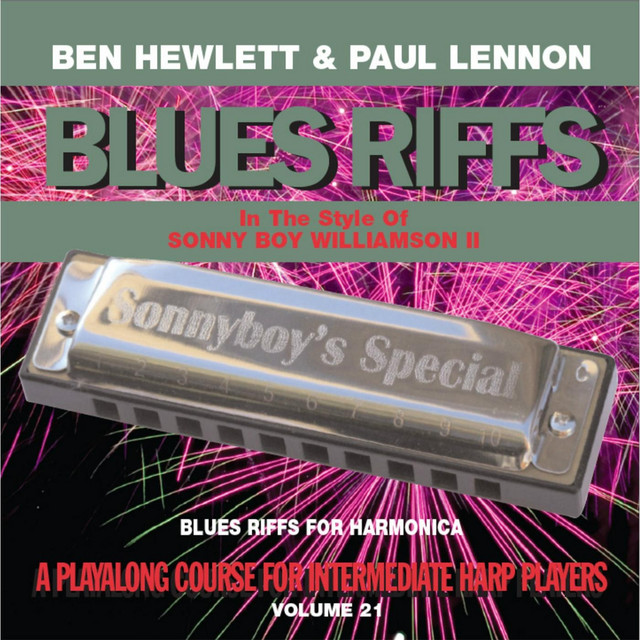 Blues Riffs for Harmonica, Vol  21: Playalong Course for