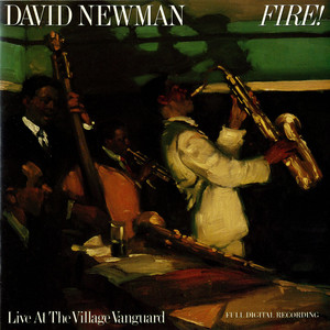 David Newman Old Devil Moon - Live at the Village Vanguard cover