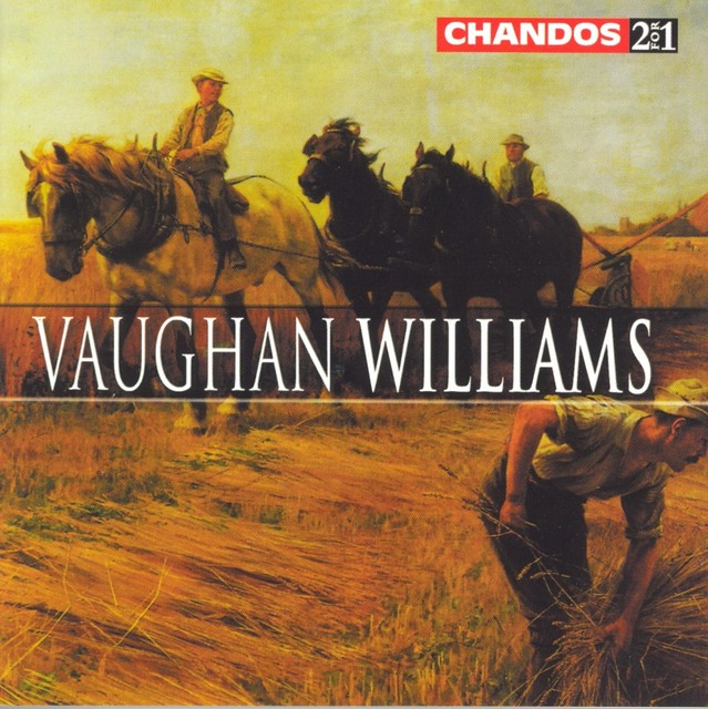 Vaughan Williams: Poisoned Kiss Overture (The) / The Running Set / Suite for Viola / Sea Songs Albumcover
