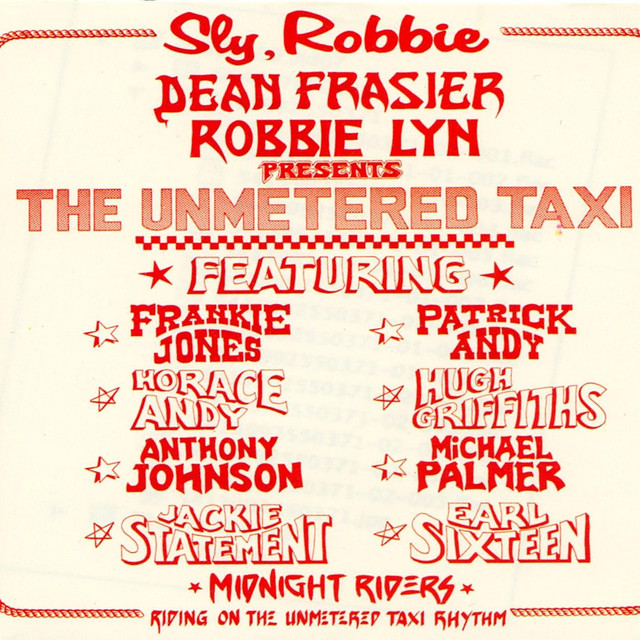 Sly & Robbie Unmetered Taxi album cover