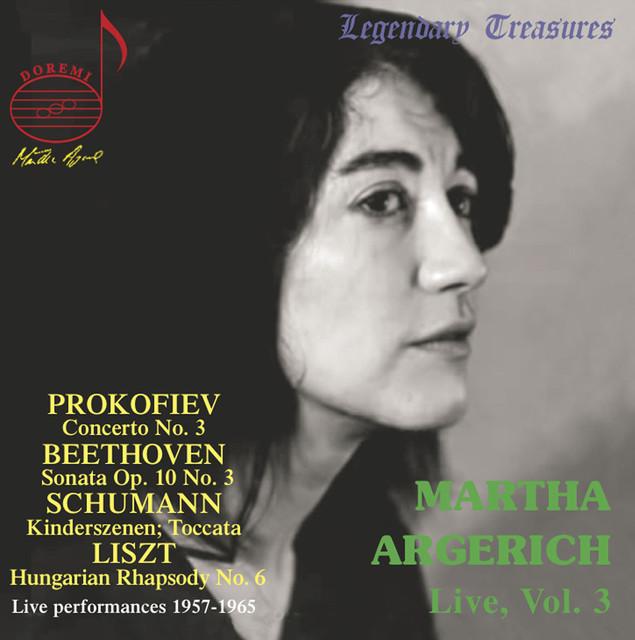 Martha Argerich Live, Vol. 3