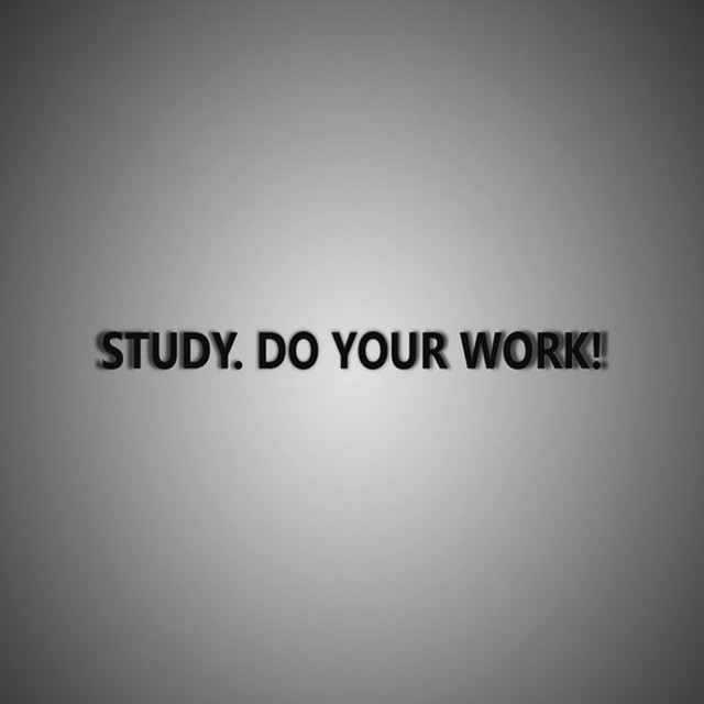 Album cover for Study Work by Study Concentration, Study Work