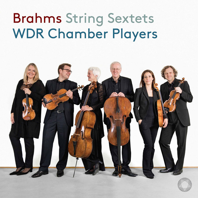 Album cover for Brahms: String Sextets Nos. 1 & 2 by Johannes Brahms, WDR Symphony Orchestra Cologne Chamber Players
