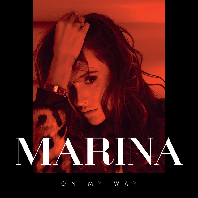 Album cover for On My Way by MaRina