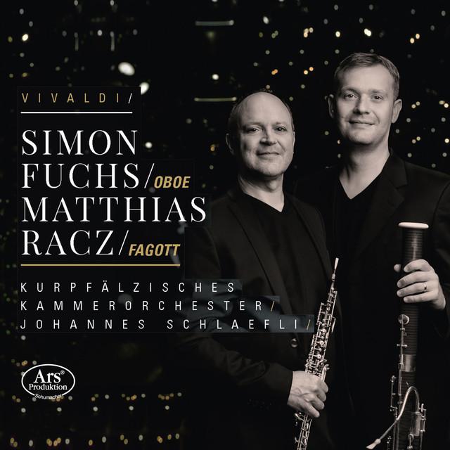 Album cover for Vivaldi: Oboe & Bassoon Concertos by Antonio Vivaldi, Simon Fuchs, Matthias Racz, Kurpfälzisches Kammerorchester, Johannes Schlaefli