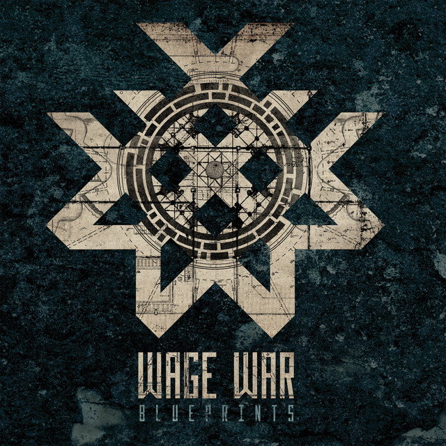 Album cover for Blueprints by Wage War