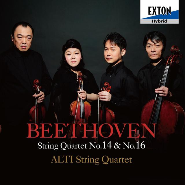 Beethoven: String Quartet No. 14 & No. 16 Albumcover