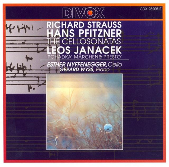 Strauss, R. / Pfitzner: Cello Sonatas / Janacek: Pohadka / Presto Albumcover