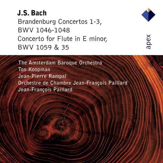 Bach, JS : Brandenburg Concertos Nos 1 - 3 & Flute Concerto (Apex)
