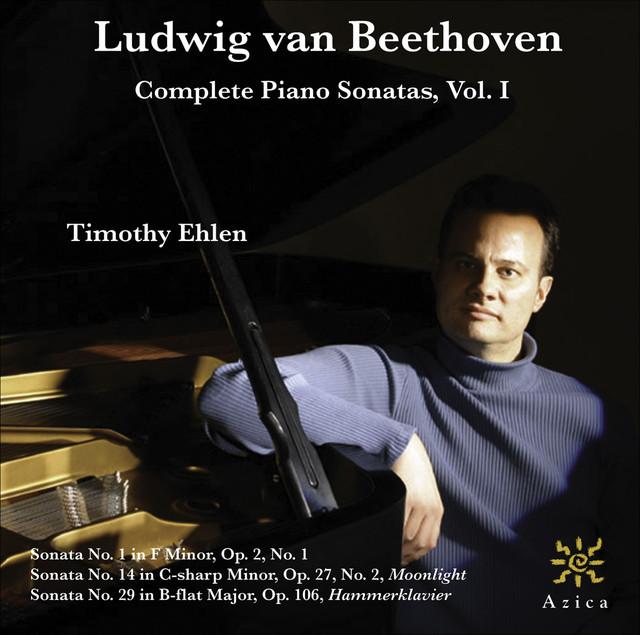 Beethoven, L. van: Piano Sonatas Vol. 1 Albumcover