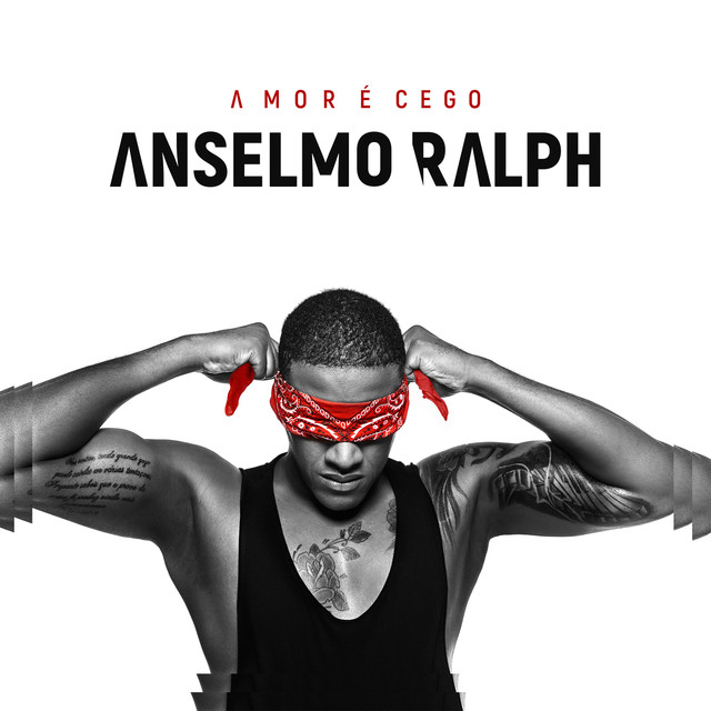 Album cover for Amor É Cego by Anselmo Ralph