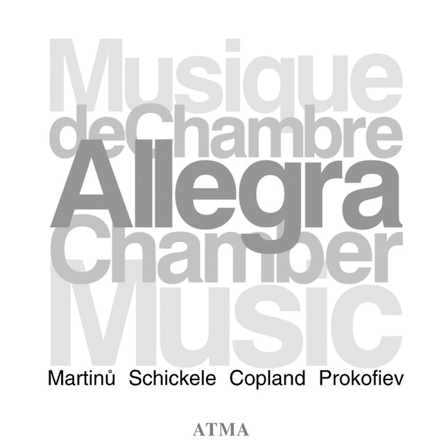 Copland / Martinu / Prokofiev / Schickele: Chamber Music Albumcover