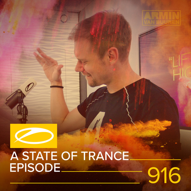 Album cover for ASOT 916 - A State Of Trance 916 by Armin van Buuren, Armin van Buuren ASOT Radio