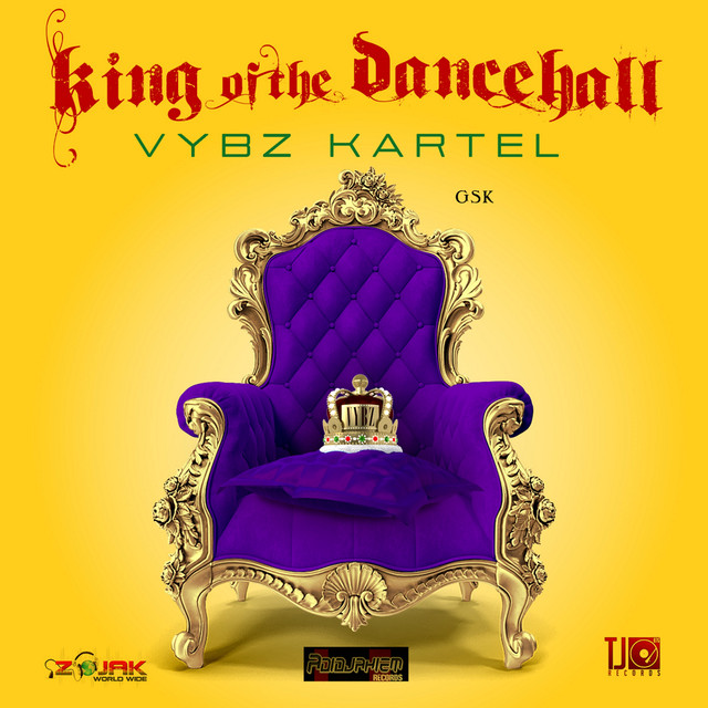 Album cover for King Of The Dancehall by Vybz Kartel