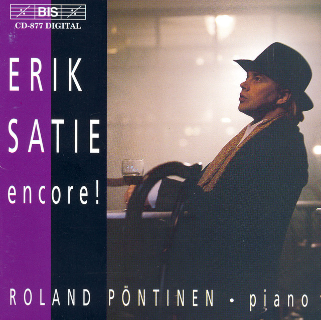 Satie: Piano Music Albumcover