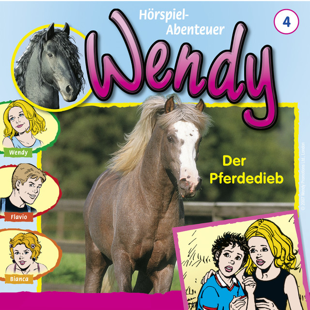 Folge 4: Der Pferdedieb Cover