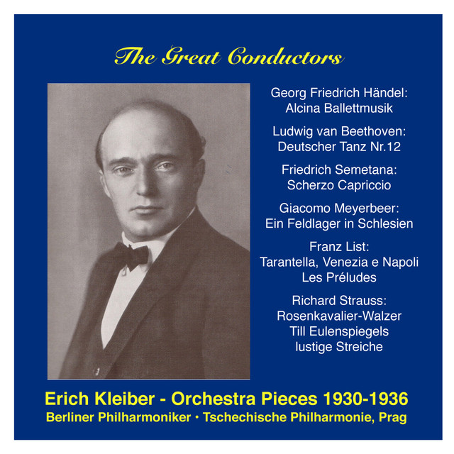 The Great Conductors: Erich Kleiber, Vol. 1 Albumcover