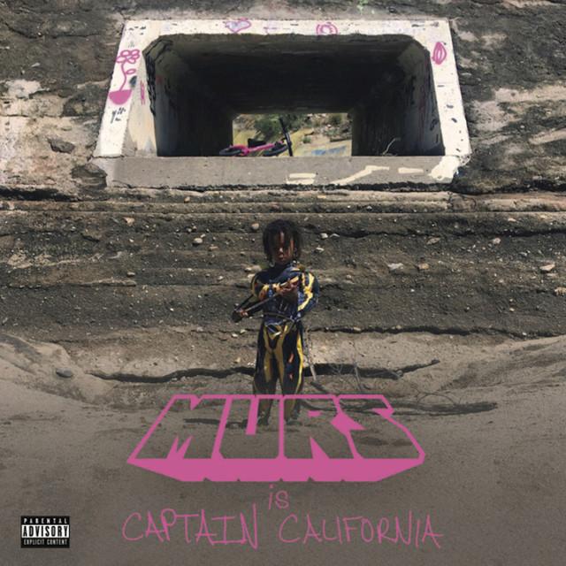 Album cover for Captain California by Murs