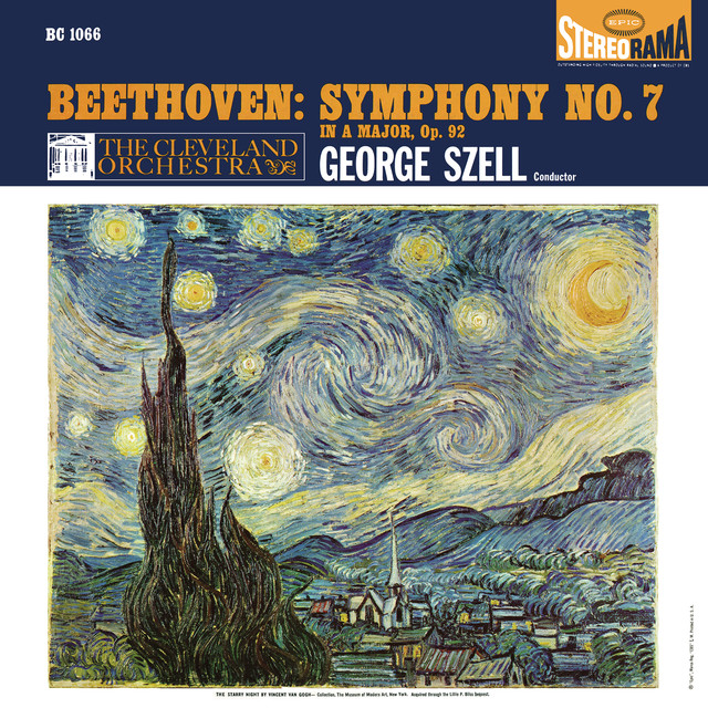 Album cover for Beethoven: Symphony No. 7 in A Major, Op. 92 (Remastered) by Ludwig van Beethoven, George Szell, Cleveland Orchestra