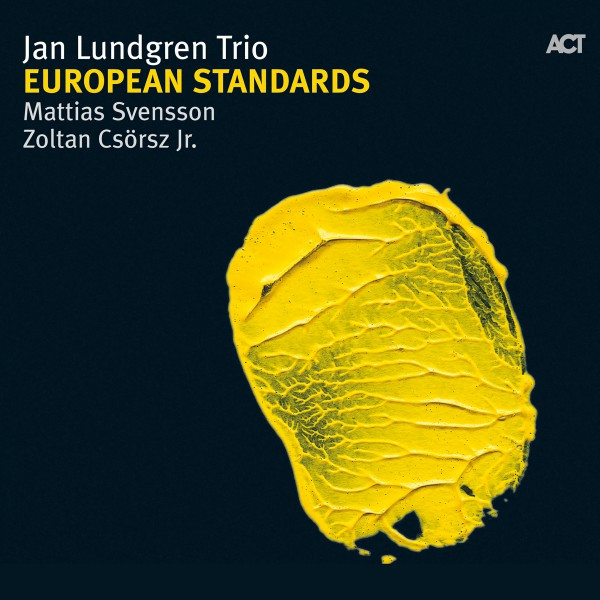 Skivomslag för Jan Lundgren Trio: European Standards