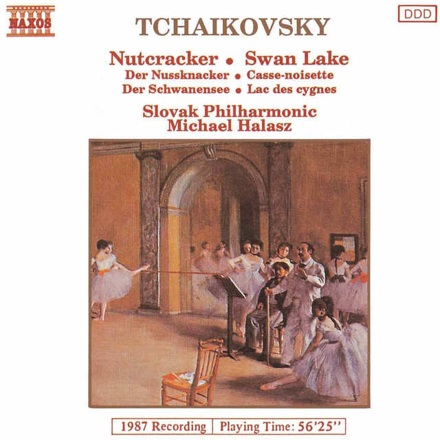 Tchaikovsky: The Nutcracker & Swan Lake Suites Albumcover