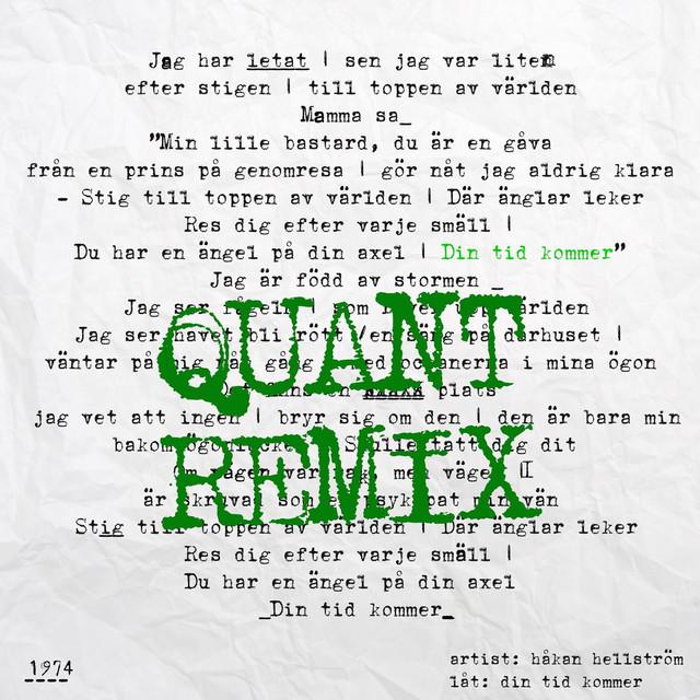 Din tid kommer (Quant Remix)