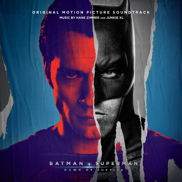 Album cover for Batman v Superman: Dawn of Justice (Original Motion Picture Soundtrack) by Junkie XL, Hans Zimmer, Hans Zimmer and Junkie XL