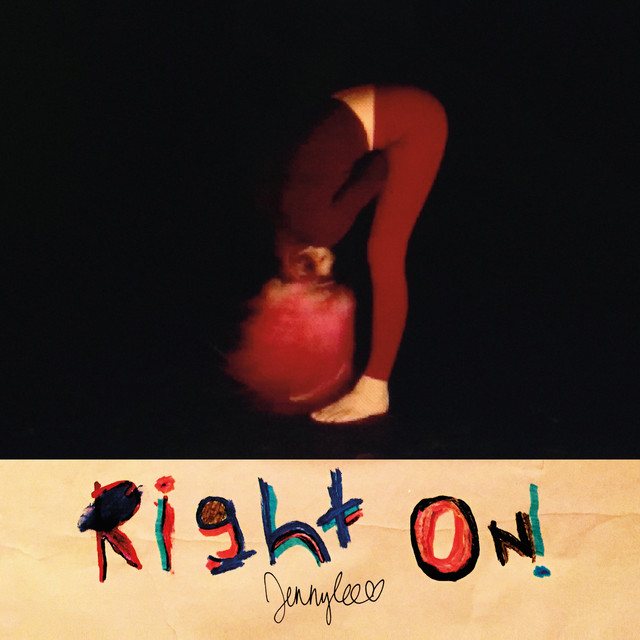Album cover for right on! by jennylee